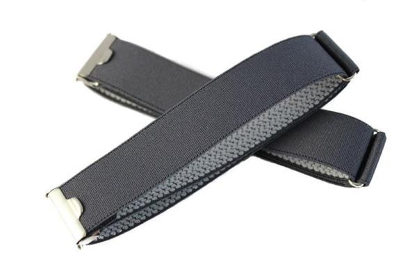 sleeve garters grey