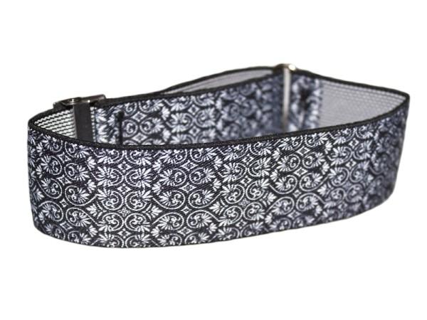 sleeve garters black and white